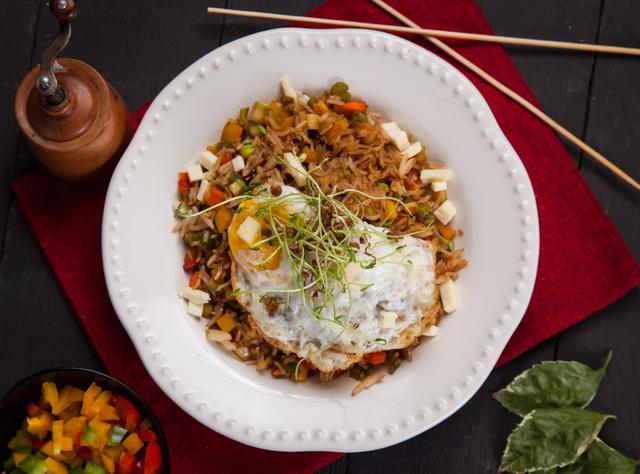ارز مقلي