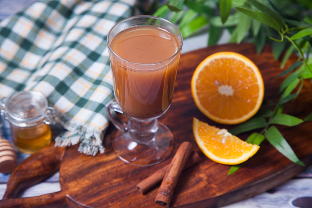 مشروب ساخن لتوسيع الشعب الهوائية