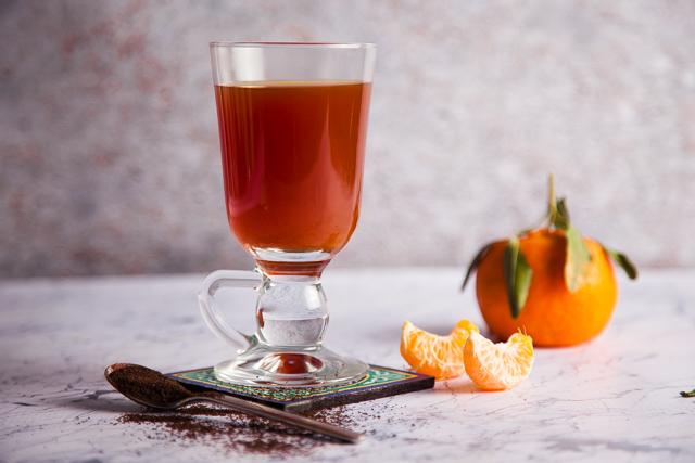 شاي ساخن باليوسفي