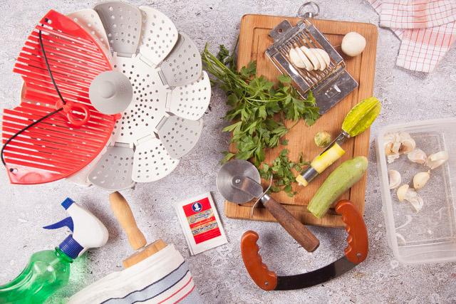 استخدامات أخرى لأدوات المطبخ