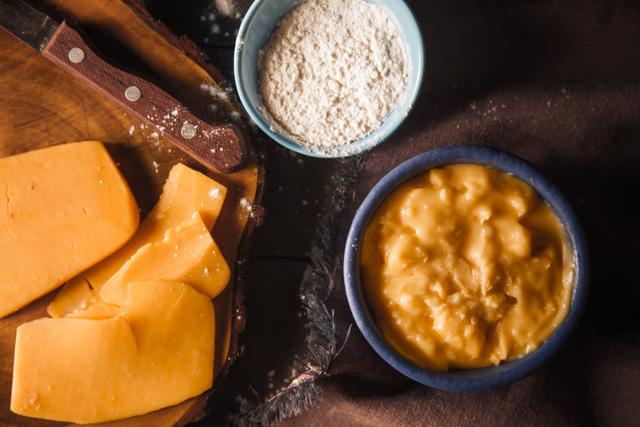 صوص الجبنة الشيدر
