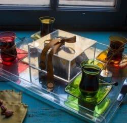 أصول فن تقديم أكواب الشاي