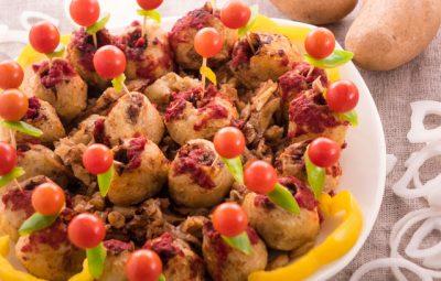 بطاطس باللحم المفروم