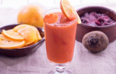 عصير برتقال بالجزر و البنجر