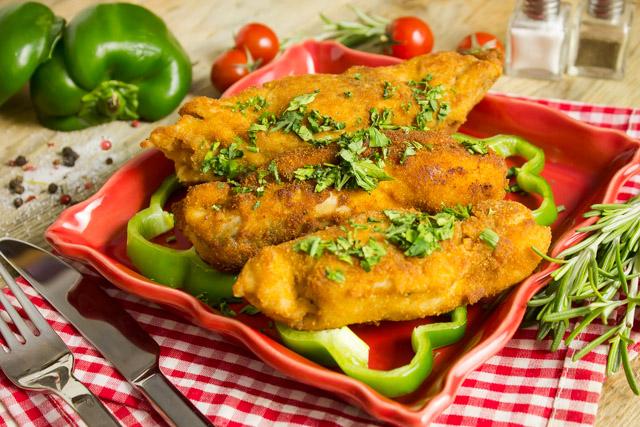 دجاج بانية محشي كبد دجاج بالارز