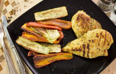 دجاج بالبهارات العربية