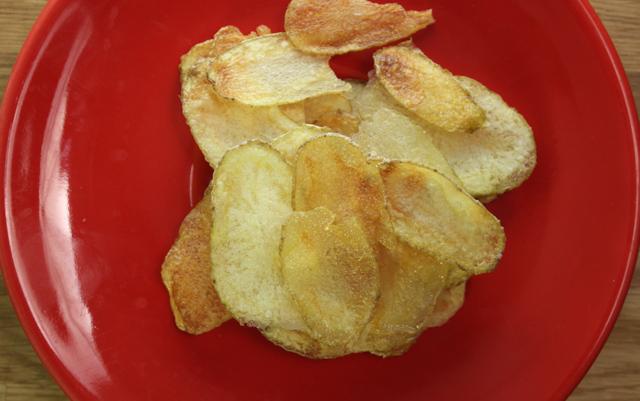 بطاطس شيبسي في الميكرويف