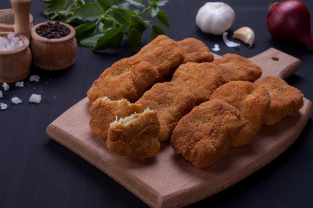 ناجتس الدجاج بطريقة سهلة جدا