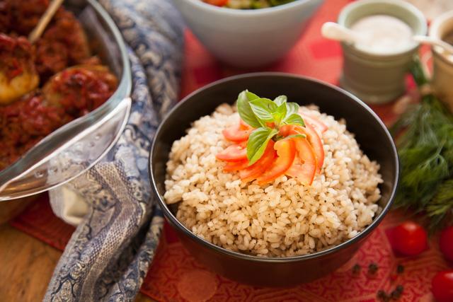 ارز ابيض بالفلفل الاسود