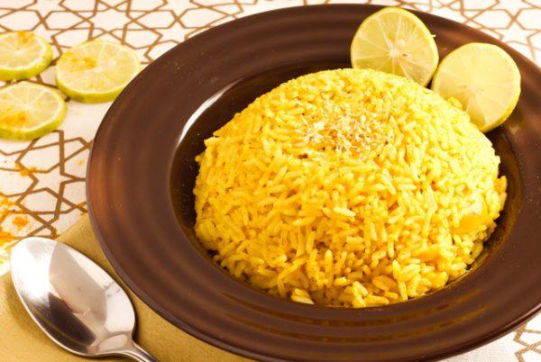 ارز بالليمون