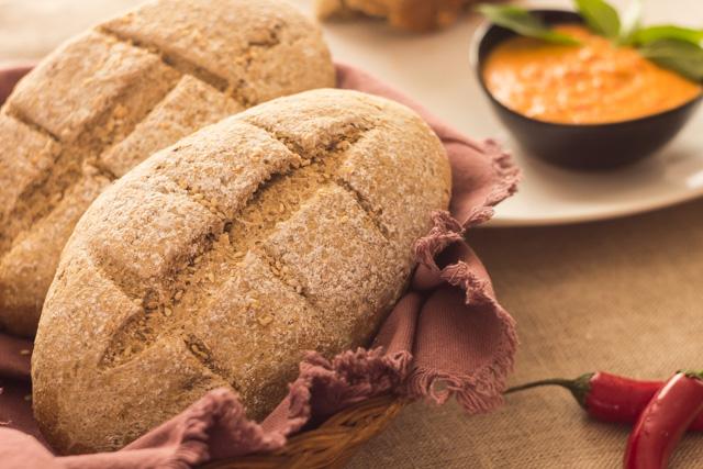 خبز القمح السويدي