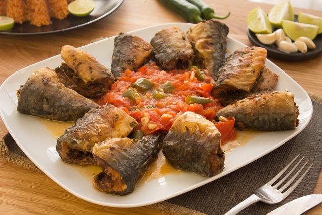 سمك ماكريل مقلي