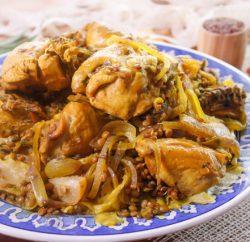 الرفيسة المغربية  بخبز الصاج