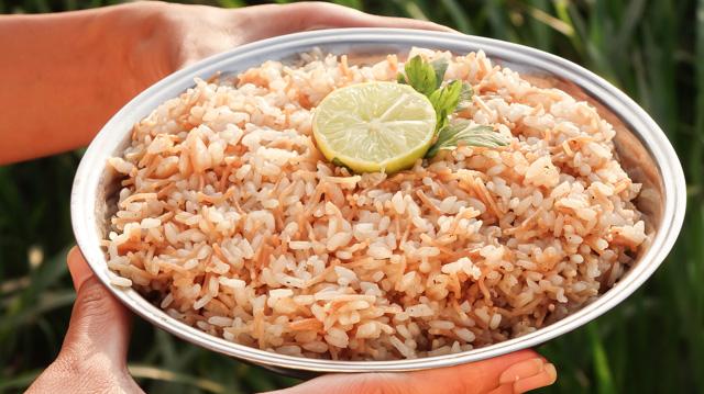ارز بالشعرية