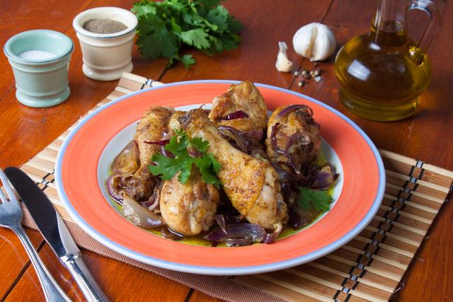 دبابيس دجاج بصوص البصل