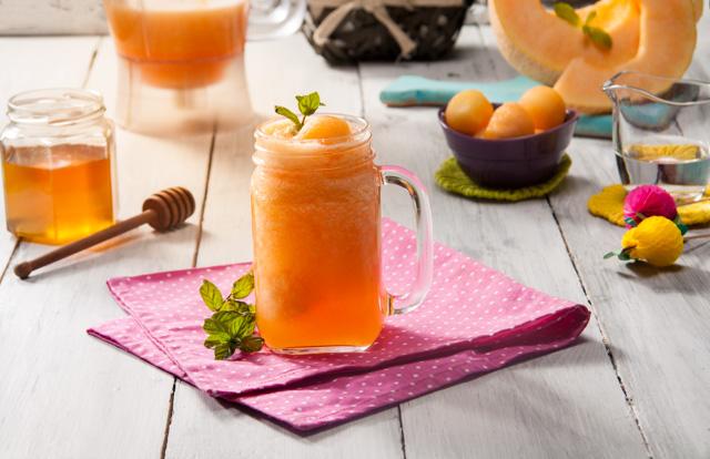عصير الشمام المنعش