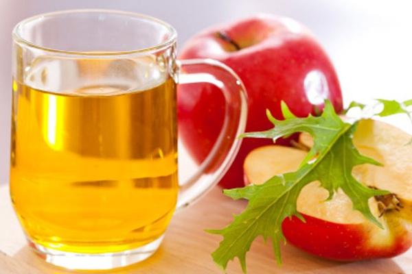 منظف الوجه اليومي من خل التفاح والنعناع فقط