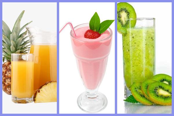 المشروبات الطازجة ألذ شىء فى الحر…افكار لمشروبات صيفية رائعة