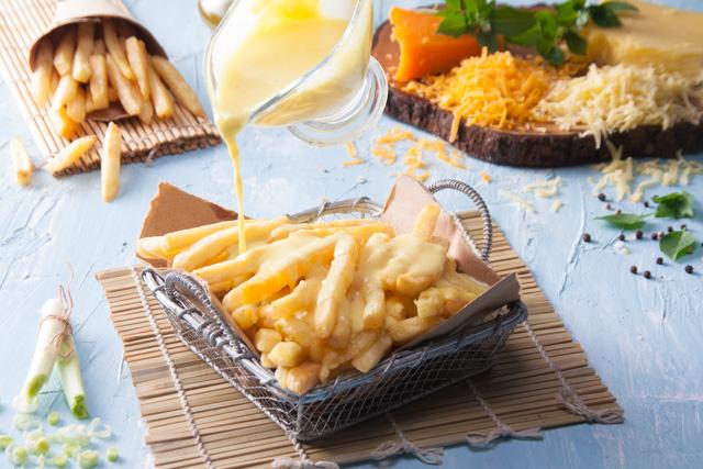 بطاطس بصوص الجبنة