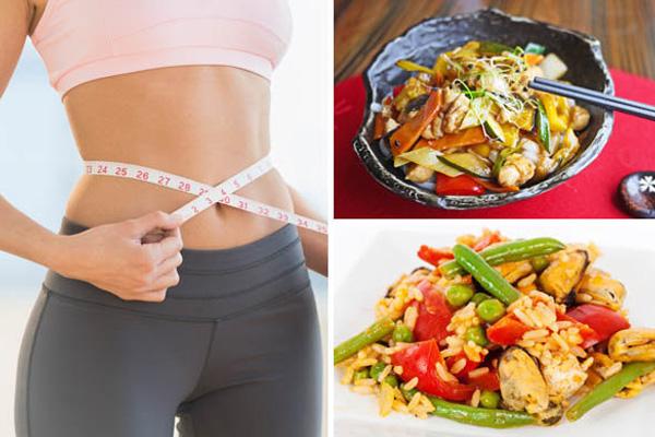 نظام غذائي متوازن لإنقاص الوزن بشكل صحي