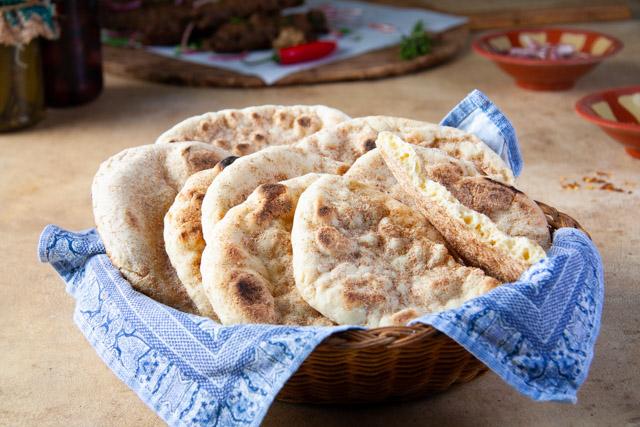 خبز بلدي بيتي