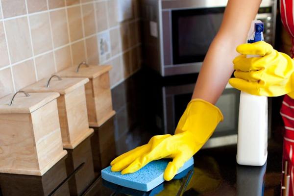 كيفية تنظيف رخام المطبخ