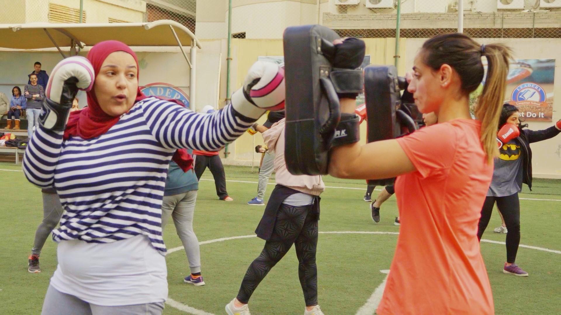 أهمية ممارسة رياضة kick box وخاصة للبنات لكل الأعمار