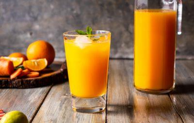 عصير برتقال بالجزر مركز
