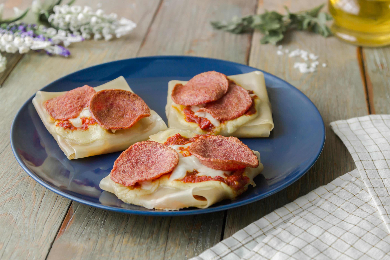 مربعات بيتزا اللازانيا