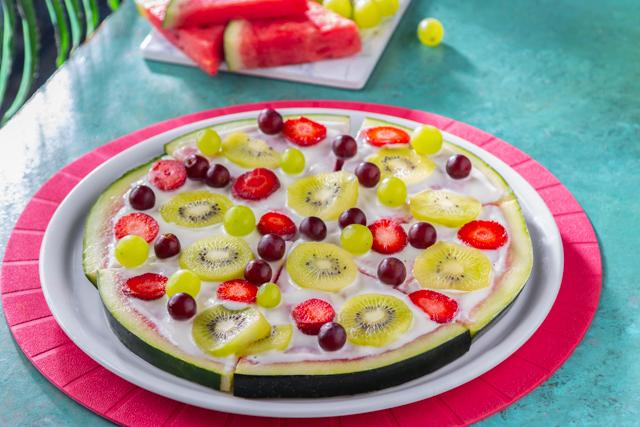 بيتزا البطيخ