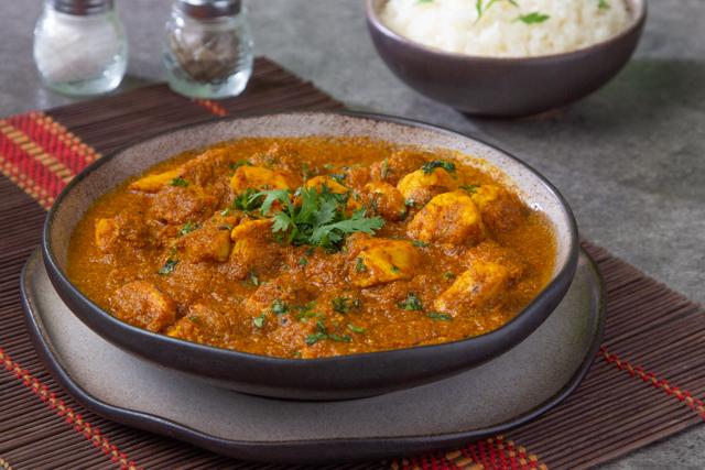 دجاج بالكارى على الطريقة الهندية